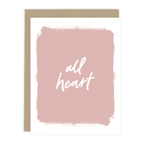 All Heart Note Card