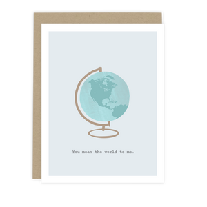 You Mean the World Note Card