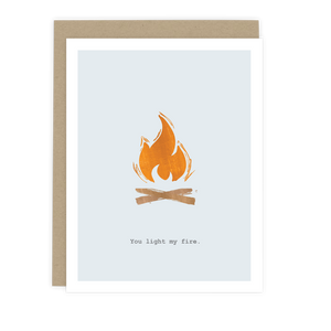 You Light My Fire Note Card