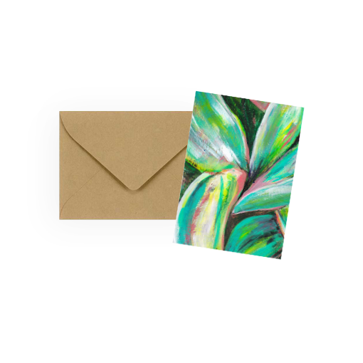 Palm Lily Mini Enclosure Cards
