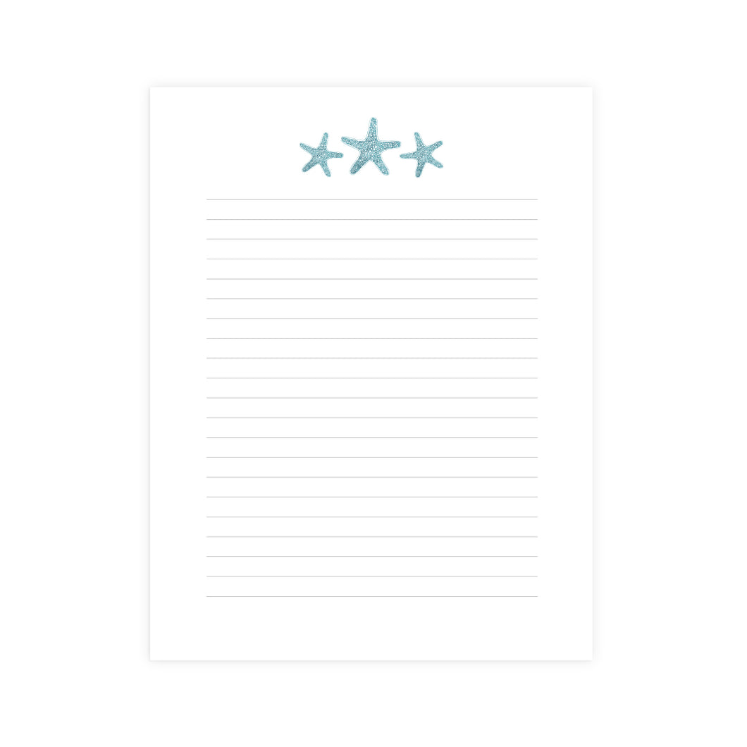 Sea Star Notepad