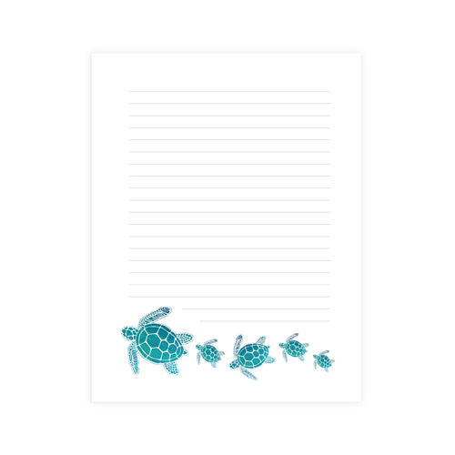 Sea Turtles Notepad