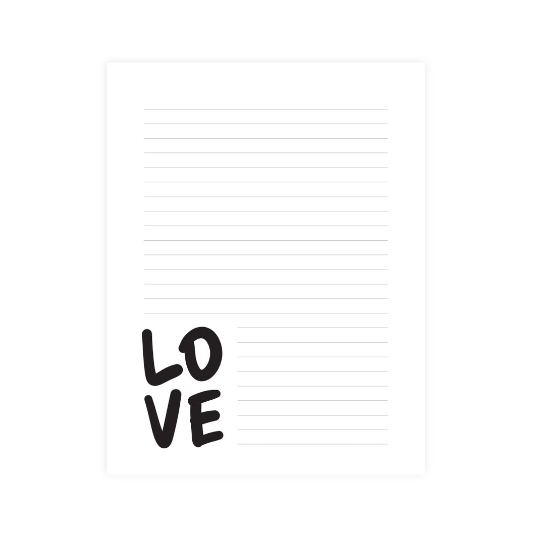 Love Notepad