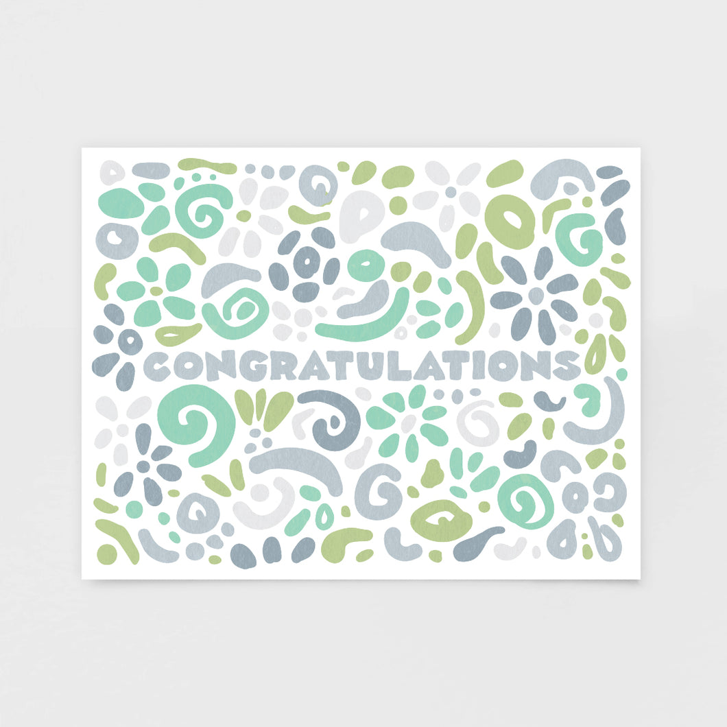 Congratulations Note Card | Luxe Stationery by 7th & Palm