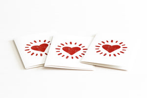 Radiant Heart Note Card | Anniversary Cards & Valentine's Day by 7th & Palm