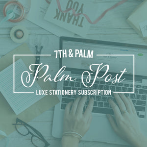 Palm Post Quarterly Subscription