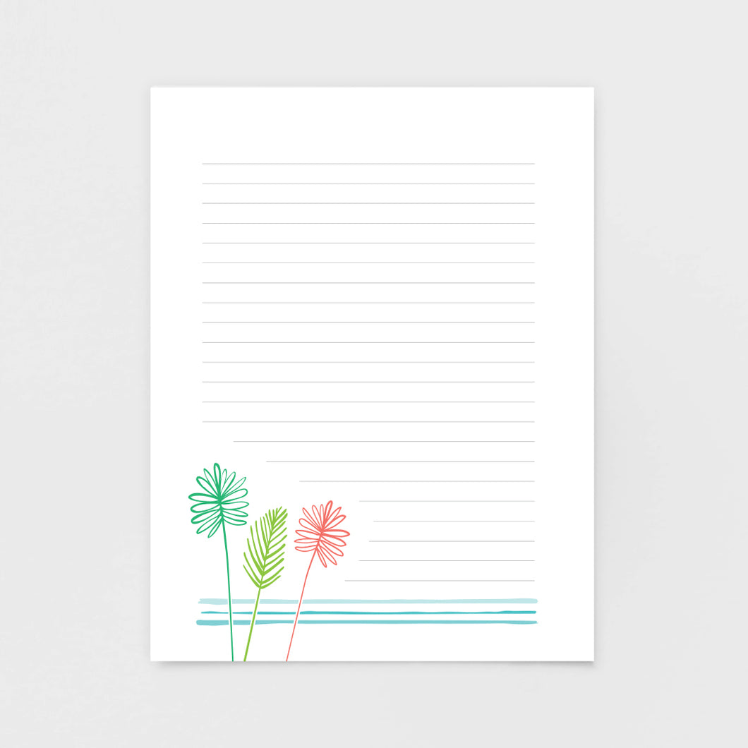 Palms Notepad