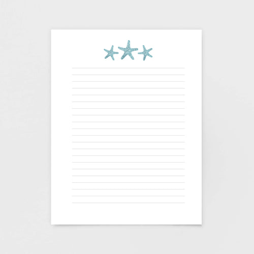 Sea Star Notepad | Coastal Gifts by 7th & Palm