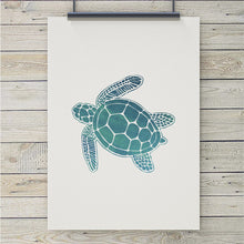 Load image into Gallery viewer, Sea Turtle Art Print