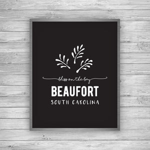 Beaufort South Carolina Palmetto Art Print