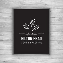 Load image into Gallery viewer, Hilton Head South Carolina Palmetto Art Print