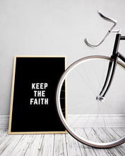 Load image into Gallery viewer, Keep The Faith Art Print - The Journey Collection by 7th & Palm