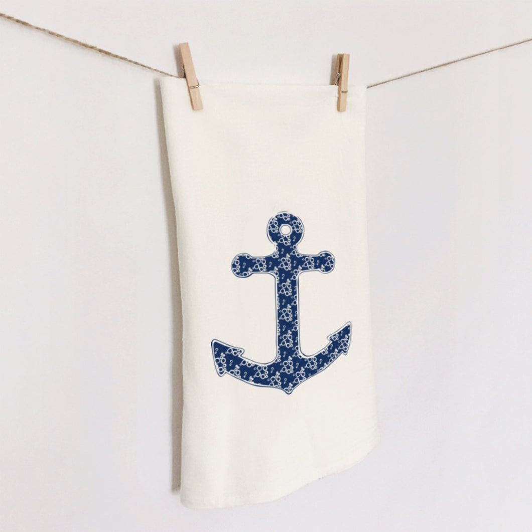 Anchor Flour Sack Towel by 7th & Palm
