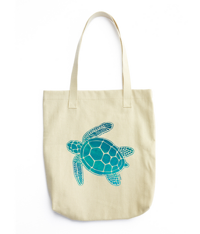 Sea Turtle Tote Bag by 7th & Palm