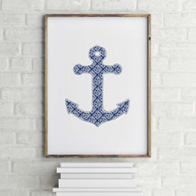 Load image into Gallery viewer, Anchor Art Print