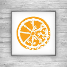 Load image into Gallery viewer, Orange Citrus Bloom Art Print