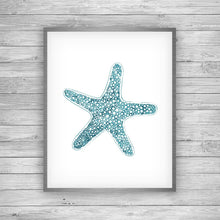 Load image into Gallery viewer, Sea Star Art Print