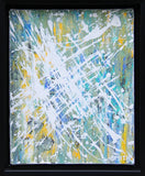 "Burst 8x10"" Abstract Acrylic Painting by Andrea Smith"