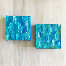 Load image into Gallery viewer, Ocean Deep I & II, Abstract Acrylic Paintings by Andrea Smith
