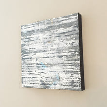Load image into Gallery viewer, Oyster Slate 12x12 Abstract Acrylic Painting by Andrea Smith
