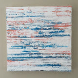 "Weathered 20x20"" Abstract Mixed Media Painting - Original Art by Andrea Smith"