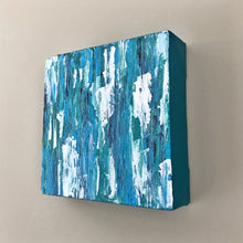 Load image into Gallery viewer, Aqua Medley I, Abstract Acrylic Painting by Andrea Smith