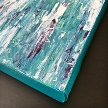 Load image into Gallery viewer, Aqua Medley II, Abstract Acrylic Painting by Andrea Smith
