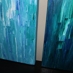 "Aquascape 16x20"" Oil Paintings - Original Art by Andrea Smith"