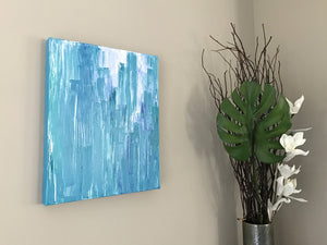"Aquascape I 16x20"" Oil Painting - Original Art by Andrea Smith"
