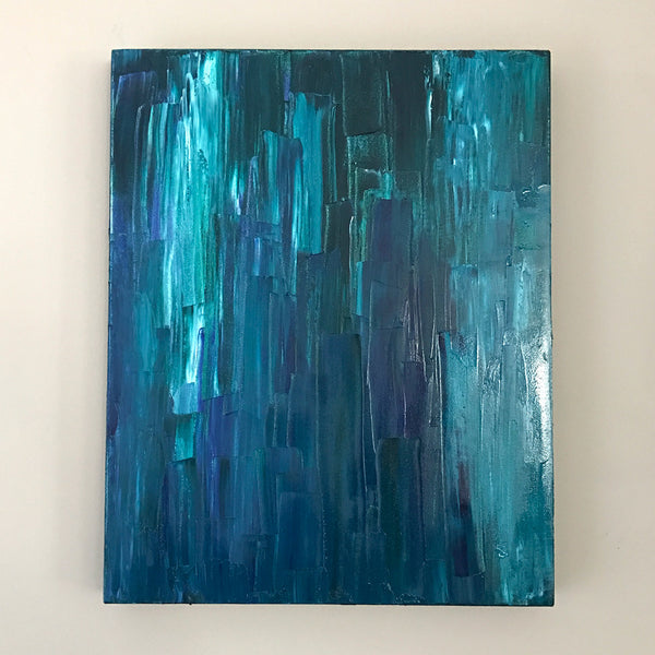 "Aquascape II 16x20"" Oil Painting - Original Art by Andrea Smith"