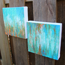 Load image into Gallery viewer, Coastal Blend I & II Abstract Acrylic Paintings by Andrea Smith