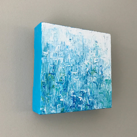 Spa Day, Abstract Acrylic Painting by Andrea Smith