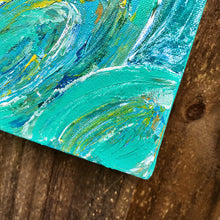 Load image into Gallery viewer, Little Palm, Acrylic Mini Painting by Andrea Smith