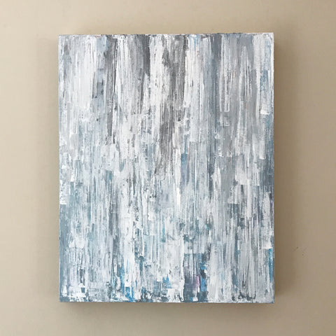 "Waterfall 16x20"" Acrylic Painting - Original Art by Andrea Smith"