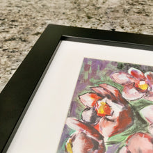 "Load image into Gallery viewer, Orchid, 5x8"" Acrylic Painting - Original Art by Andrea Smith"
