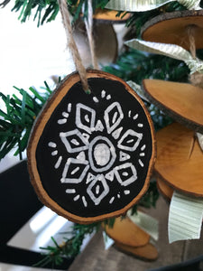 Live Edge Wood Ornaments