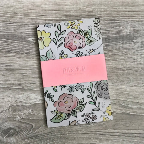 Floral Watercolor Journal | Paper Goods by 7th & Palm