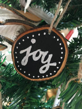 Load image into Gallery viewer, Live Edge Wood Ornaments