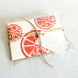 Citrus Bloom Note Cards in Packaged Set of Three