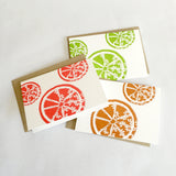 Citrus Bloom Note Cards