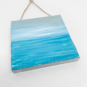 Ocean Mini Canvas Ornament 1