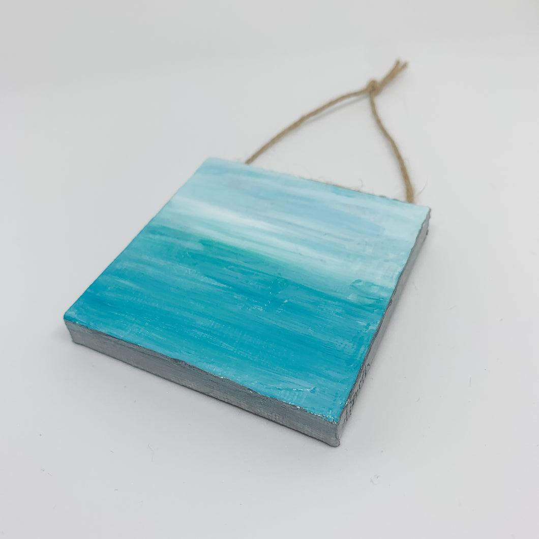 Ocean Mini Canvas Ornament 2