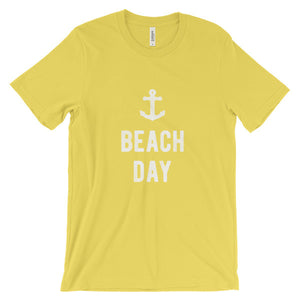 Yellow Beach Day T-Shirt