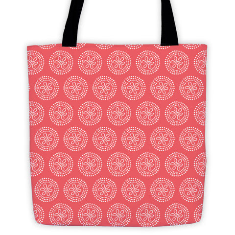 Sand Flower Tote Bag