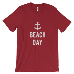 Red Beach Day T-Shirt