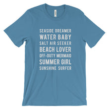 Load image into Gallery viewer, Ocean Blue Beach Lover T-Shirt