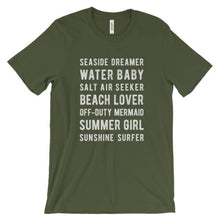 Load image into Gallery viewer, Olive Beach Lover T-Shirt