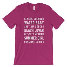 Load image into Gallery viewer, Berry Beach Lover T-Shirt
