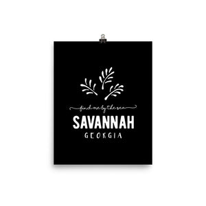 Savannah Georgia Art Print