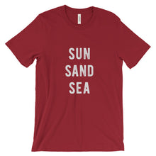 Load image into Gallery viewer, Red Sun Sand Sea T-Shirt